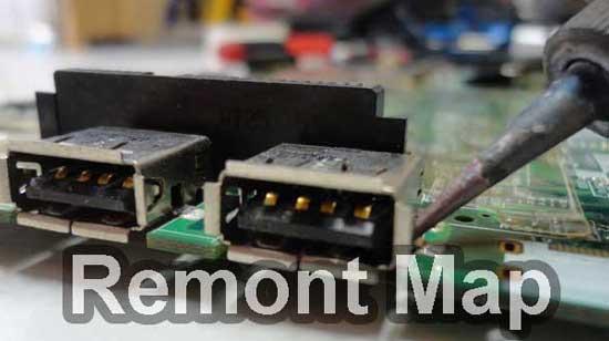 Ремонт USB на ноутбуке